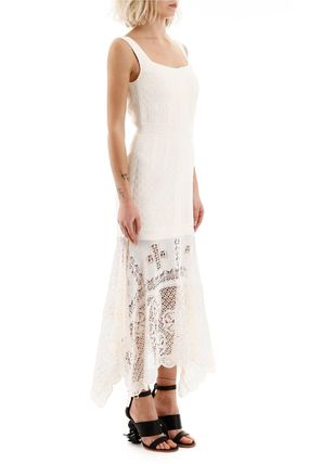 alexander mcqueen ボレロ・ショール 関税込み◆LONG LACE DRESS(4)