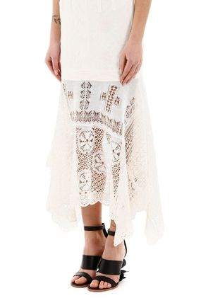 alexander mcqueen ボレロ・ショール 関税込み◆LONG LACE DRESS(6)