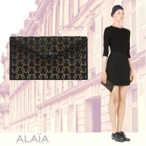 ALAIA  LOUISE 24 クラッチバッグ