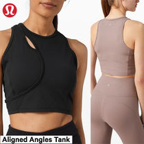 lululemon☆柔らかNulu クロップ丈タンク☆Aligned Angles Tank