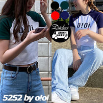 5252 by o!oi SIGNATURE CROP T-SHIRTS PK1016 追跡付