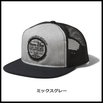 THE NORTH FACE キャップ 国内発送・正規品★THE NORTH FACE★MESSAGE MESH CAP(4)