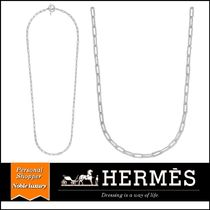 2020SS 新作 HERMES Chaine d'Ancre Game LM チェーン シルバー