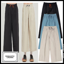 20SS ★ROMANTIC CROWN★ 兼用 WIDE FIT EASY PANTS パンツ 3色