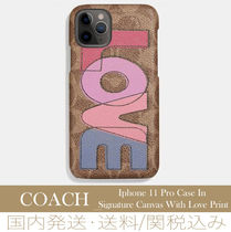 【セール/国内発送】Iphone 11 Pro Case In Signature Canvas