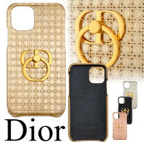 "【Dior】ロゴリング付き ""30 MONTAIGNE"" IPHONE 11 PROケース"