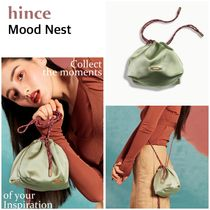 hince(ヒンス) バッグ・カバンその他 20SS新作【hince】Mood Nest/ポーチ巾着バッグ[追跡付]