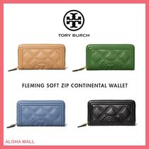 【Tory Burch】FLEMING SOFT ZIP CONTINENTAL WALLET♪長財布
