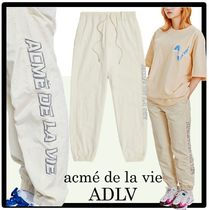 ☆TWICE着用☆acme' de la vie★SIDE EMBROIDERY LONG PANTS