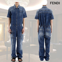 VIP価格【FENDI】DENIM JUMPSUIT 関税込