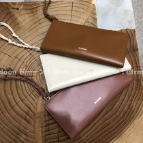 【Jil Sander】SINGLE PLACTICAL WALLET MD (各色)