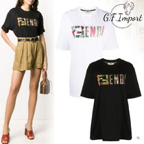 【VIP SALE!!】FENDI☆Fendi flowers' t-shirt