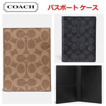 【Coach】Signature Canvas パスポート ケース
