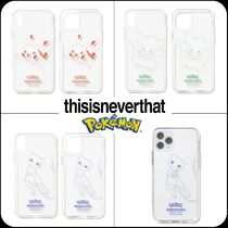 [ thisisneverthat ] ★ PKM Outline iPhone Case
