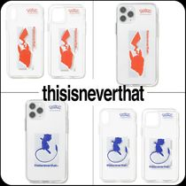[ thisisneverthat ] ★ PKM Silhouette iPhone Case