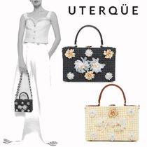 【Uterque】FLOWER BOX BAG