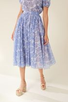 Manoush(マヌーシュ) スカート MANOUSH 20SS Blue Nuage skirt