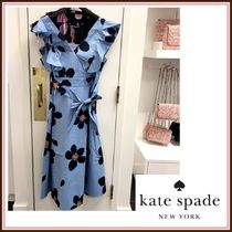 kate spade☆grand flora poplin midi dress 花柄☆送料込