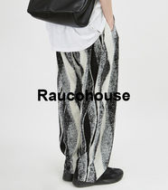 Raucohouse WAVY PLEATS PANTS