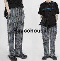 Raucohouse MULTI COLOR WRINKLE PANTS