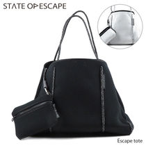 State of Escape(ステイトオブエスケープ) トートバッグ STATE OF ESCAPE 大容量 トートバッグ バッグ レディース