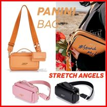 ☆STRETCH ANGELS☆ Flap multi PANINI bag ☆韓国人気☆