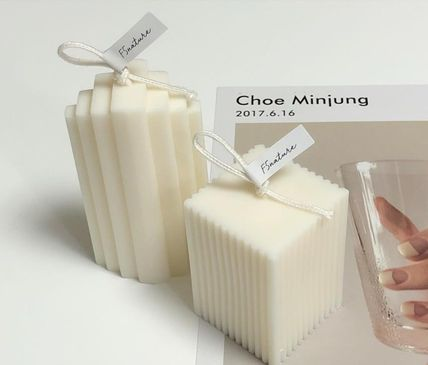 DECO VIEW キャンドル 【F5NATURE】Cloud Candle , Block Candle(2)