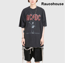 Raucohouse  ACDC GUITAR DYEING T-SHIRT