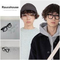 割引クーポン◯◆RAUCOHOUSE◆BOLD FRAME GLASSES