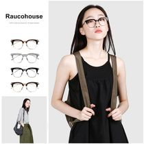 割引クーポン◯◆RAUCOHOUSE◆BROWLINE MODERN GLASSES