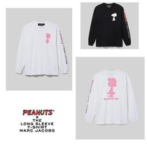 PEANUTS X MARC JACOBS THE LONG-SLEEVE T-SHIRT WITH SNOOPY