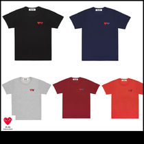 COMME des GARCONS PLAY 半袖 Tシャツ ハート ロゴ レディース