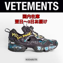国内発 20AW VETEMENTS × REEBOK REVERSE GRAFFITI 3.0 送関込