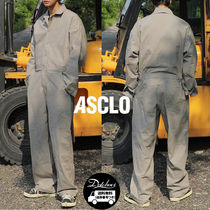 ASCLO Acon Linen Engine Jump Suit (3color) YI460 追跡付