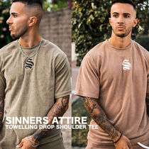 【SINNERS ATTIRE】DROP SHOULDER Tシャツ タオル地