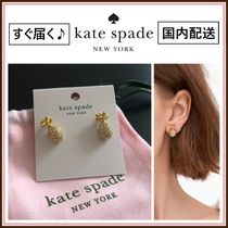 kate spade☆ by the pool pave pineapple mini studs ☆送料込