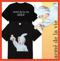 送料・関税込☆acme' de la vie☆ADLV BABY FACE T-SHIRT RABBIT