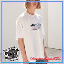 【ADD】ADDITUDE STAMP TEE WHITE ★Seventeen Vernon 着用★
