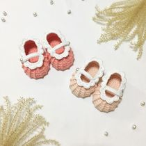 [DEAR MY BABY] KNITTING LACE MARY JANE SHOES 22 COLOR