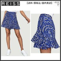 【海外限定】REISS スカート☆Emelia geometric-print high-wais