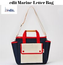 【BY EDIT】edit Marine Letter Bag