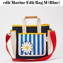 【BY EDIT】edit Marine Edit Bag M (Blue)