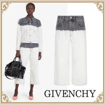 2020AW新作 GIVENCHY☆ ショート SOFT JEANS in ツートン デニム