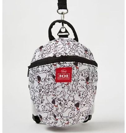 George 子供用帽子・手袋・ファッション小物 Disney 101 Dalmatians Backpack with Reins
