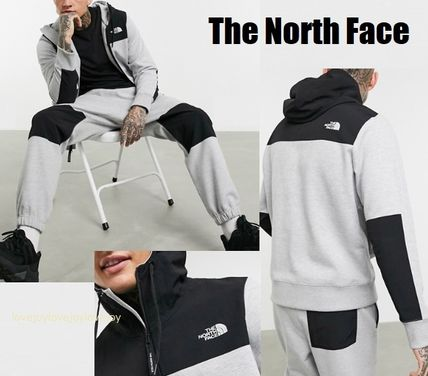 THE NORTH FACE セットアップ The North Face カラーブロック フーディー&パンツ セットアップ