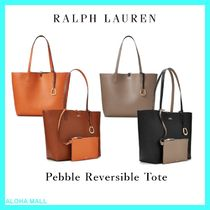 【Ralph Lauren】リバーシブルトート♪Pebble Reversible Tote