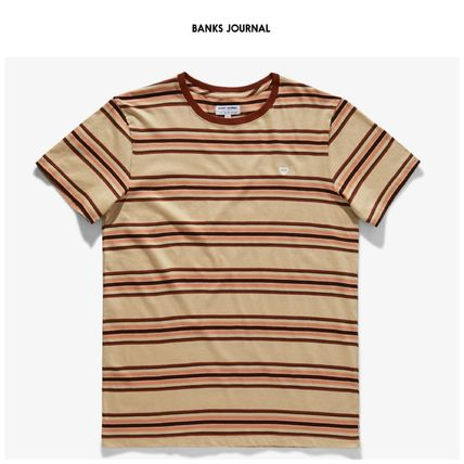 BANKS Tシャツ・カットソー 【BANKS JOURNAL】☆半袖T-シャツ☆新作☆RODRIGUEZ DELUXE TEE