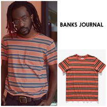 【BANKS JOURNAL】☆半袖T-シャツ☆新作☆ALBY DELUXE TEE SHIRT
