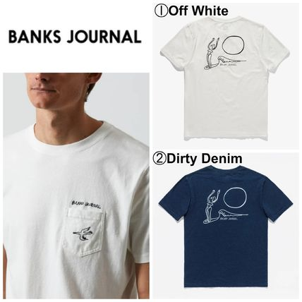BANKS Tシャツ・カットソー 【BANKS JOURNAL】☆半袖T-シャツ☆TY WILLIAMS CALYPSO TEE