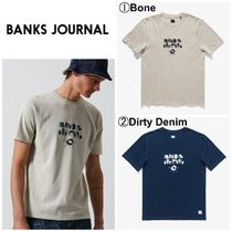 【BANKS JOURNAL】☆半袖T-シャツ☆新作☆TY WILLIAMS BEING TEE
